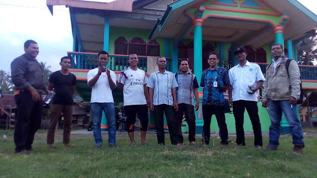 Staf Kementerian Desa dan PDT Singgahi Gampong Cot Baroh
