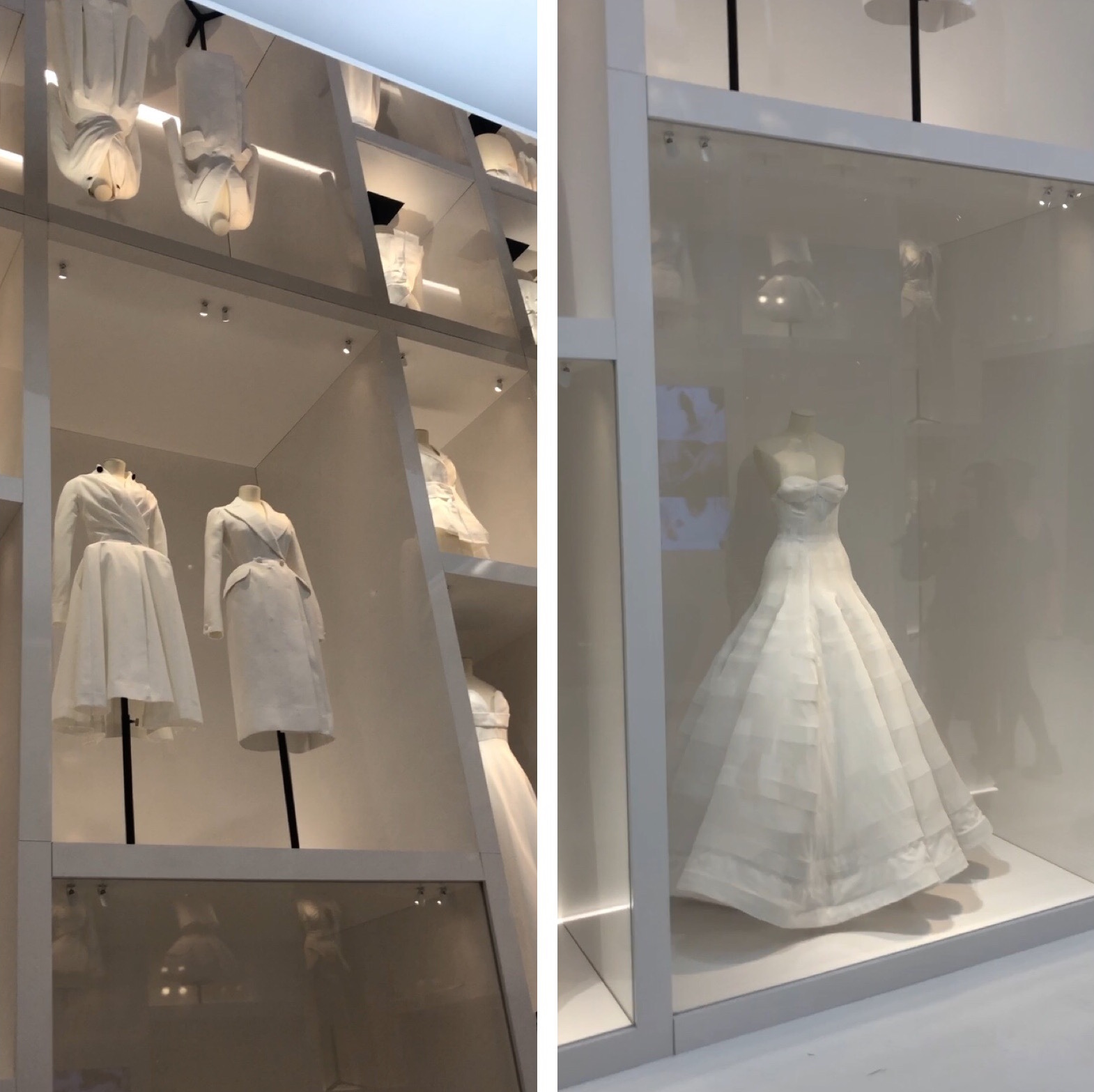 christian dior exhibition v and a sample