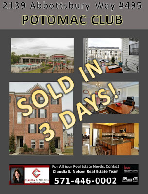2139 Abbotsbury Way #495 sold in Potomac Club in 3 days
