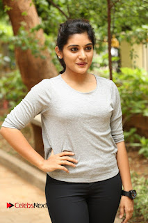 Niveda Thomas Pictures in Black Jeans at Gentleman Movie Interview ~ Celebs Next