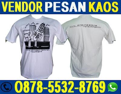 Jasa Kaos Konveksi Sablon Daerah Surabaya, Kaos Konveksi Sablon Daerah Surabaya