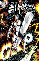 Silver Surfer v2 #1 marvel comic book cover art by John Byrne