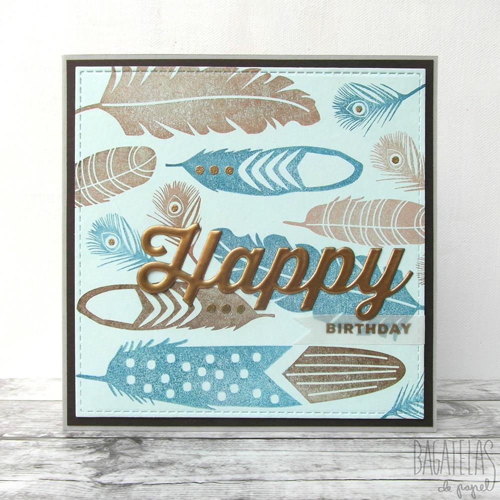 Tarjeta De Cumpleanos Unisex A Unisex Birthday Card