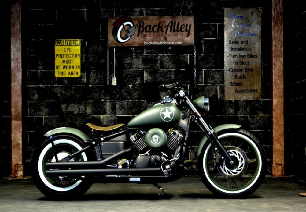 2015 Yamaha V Star 650 Custom Motorcycle Wallpaper | Top Wallpapers