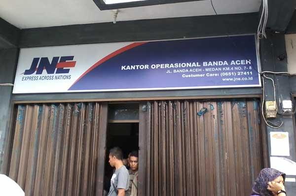 Alamat & Nomor Telepon Kantor JNE Kota Banda Aceh