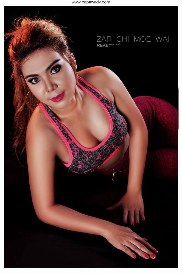 Zarchi Moe Wai Fitness Style Fashion Photoshoot
