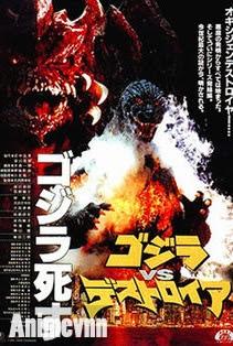 Godzilla vs Destoroyah - SIêu Nhân 1995 Poster