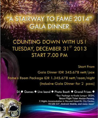 A Stairway to Fame Gala Dinner