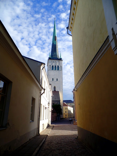 St Olaf Estonia Tallinn Tallin Church Highest Tower