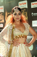 Apoorva Spicy Pics in Cream Deep Neck Choli Ghagra WOW at IIFA Utsavam Awards 2017 79.JPG