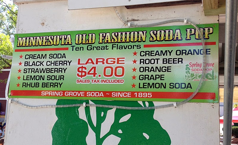 Spring Grove Soda at the Minnesota State Fair