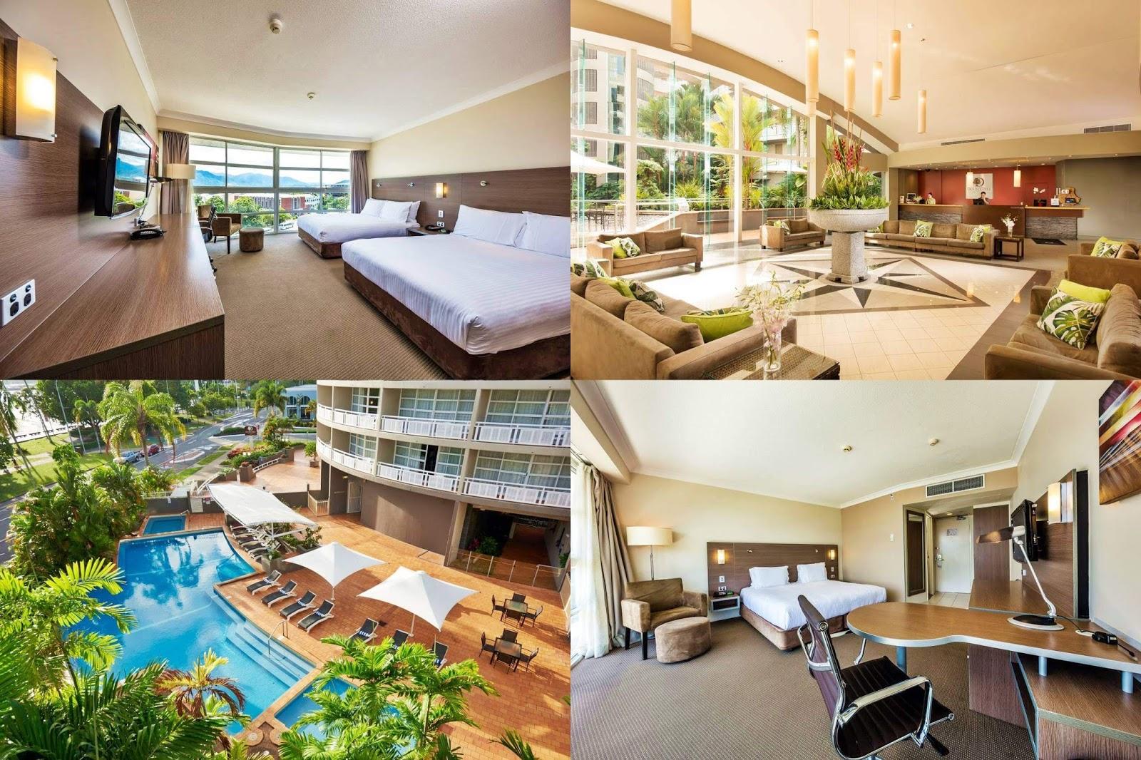 凱恩斯-住宿-推薦-希爾頓逸林-飯店-旅館-民宿-公寓-酒店-Cairns-DoubleTree-Hilton-Hotel