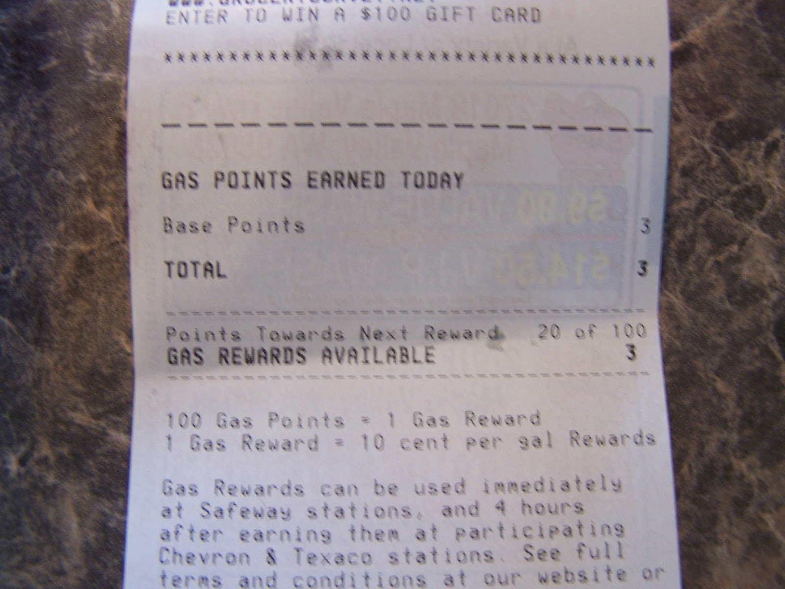 Did you know you can use your Safeway Gas Reward Points at