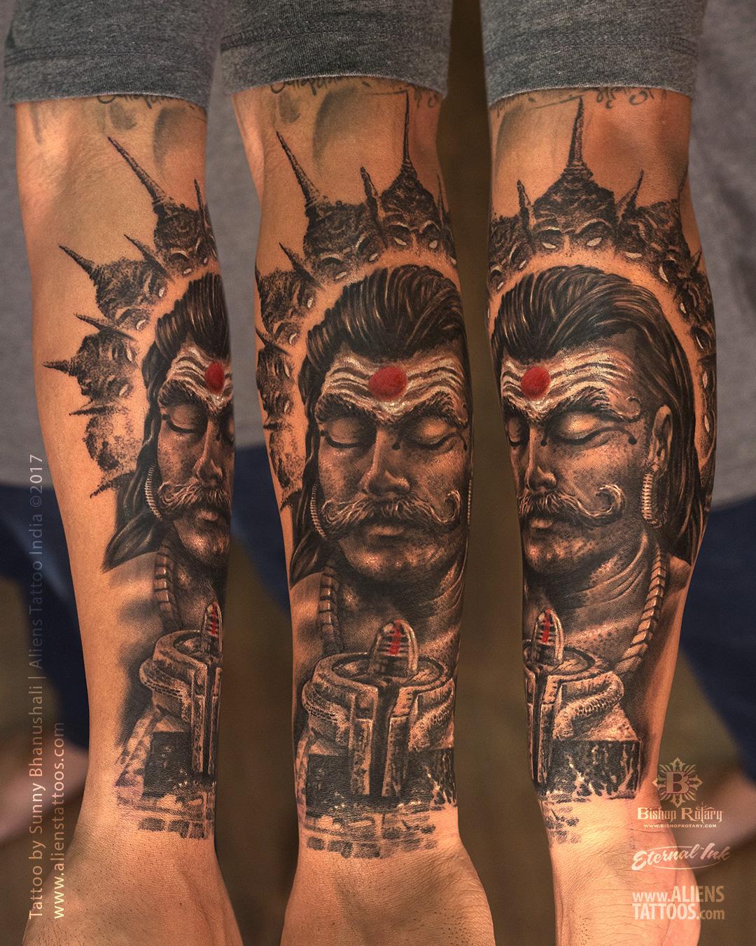 38596ddee Ravana Tattoo by Sunny Bhanushali at Aliens Tattoo