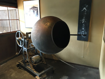 蔵久 昔のかりんとうを作る機械