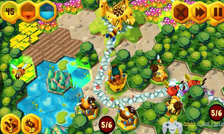 تحميل لعبة سياج النحل BeeFense برابط مباشر