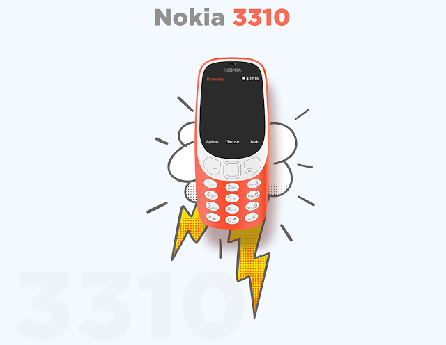Fan Creates Amazing Landing Page Concept for the Nokia 3310