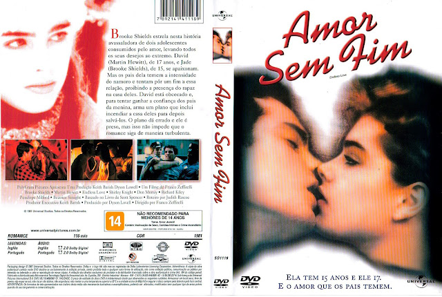 Capa DVD Amor Sem Fim