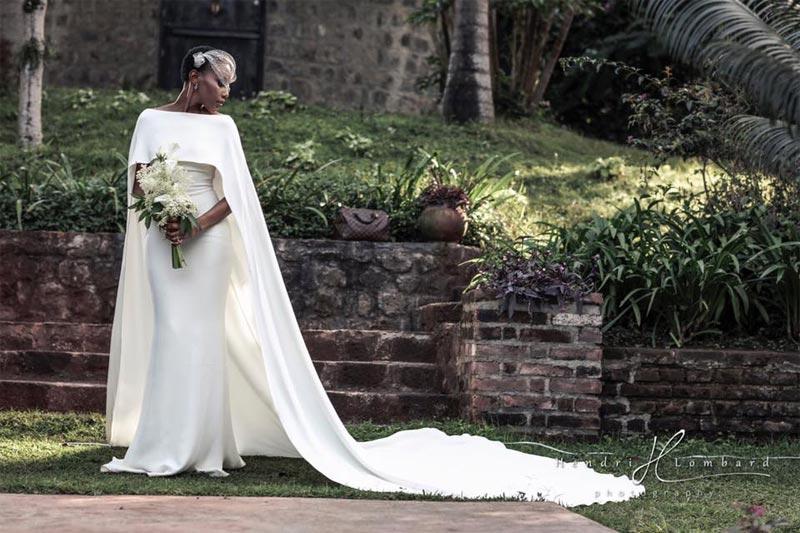 Aww! Former Miss World Africa, Nancy Sumari weds in Tanzania (photos)