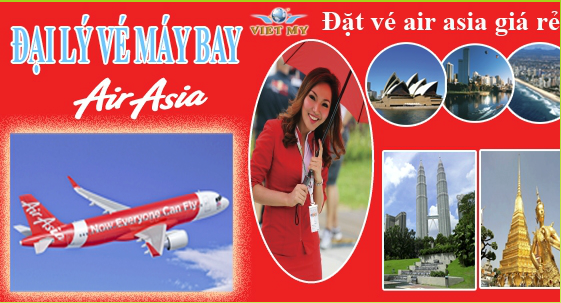 Ve may bay di Bangkok cua hang Air Asia