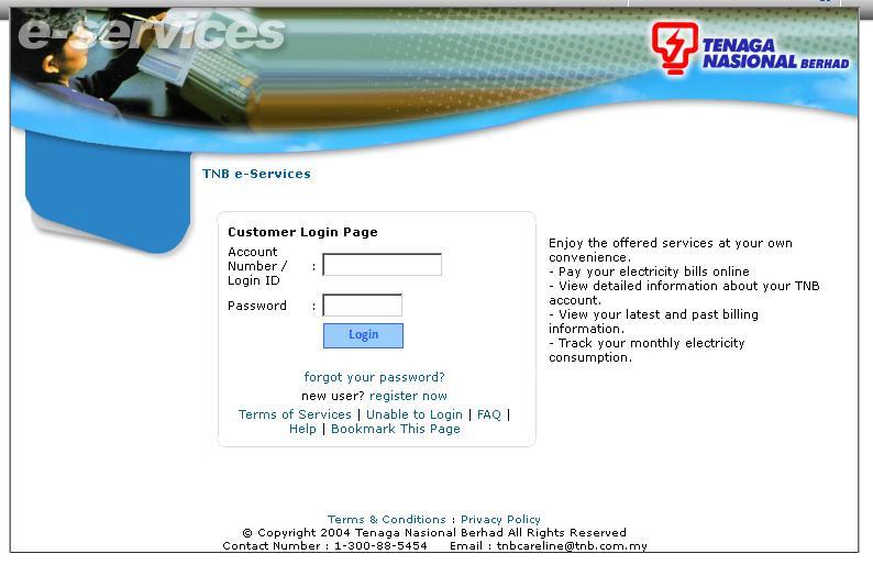 Check Electric Bill Online Tnb — TTCT