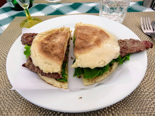 Steak on bolo do caco in Madeira