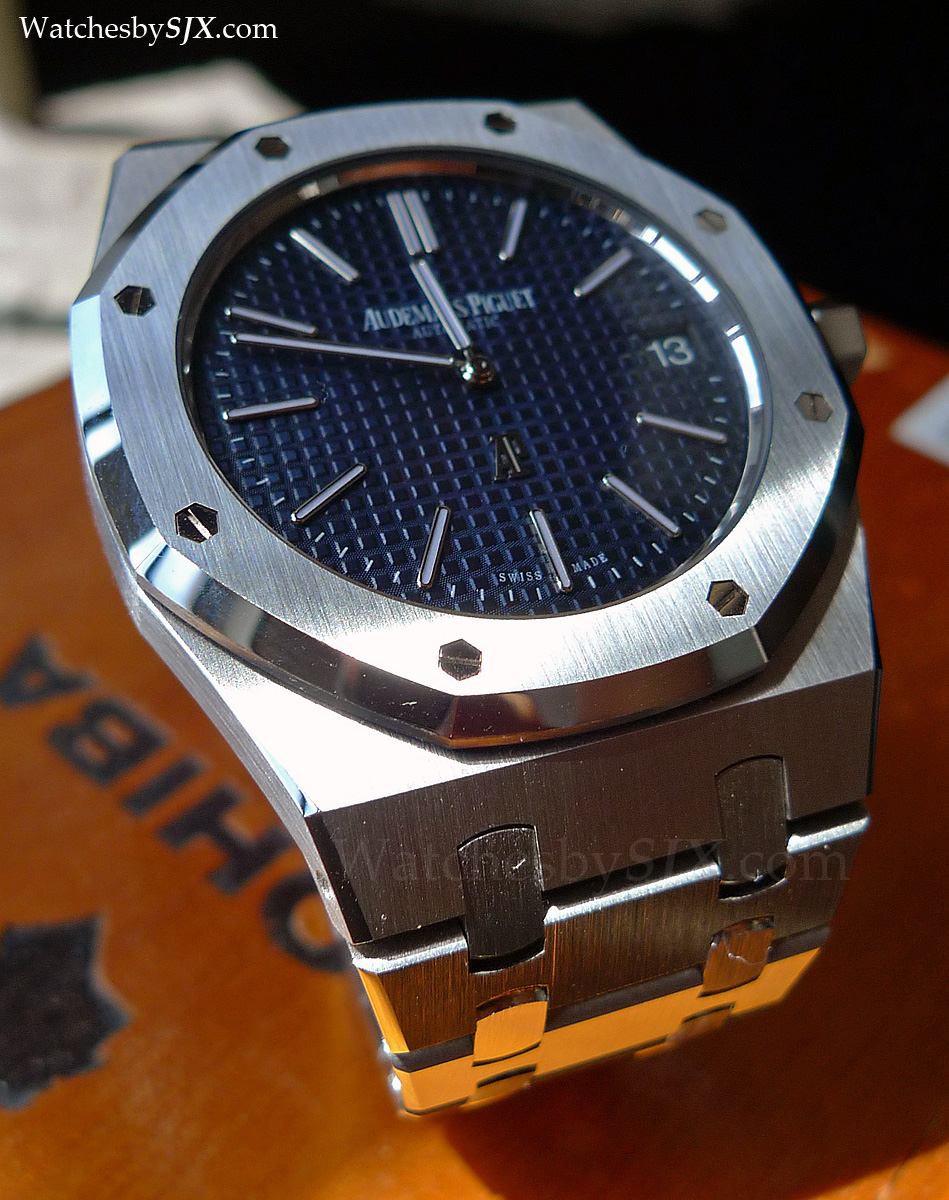 a6c7459662e0 On-the-wrist review  the new Audemars Piguet Royal Oak Jumbo ref. 15202 ( with live pics and pricing)
