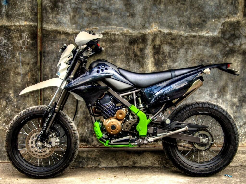 Modifikasi Motor Trail Terbaru Jadul Dari Klx Mini Ktm Bebek Supra