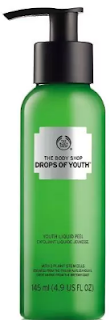 peeling gel drops of youth the body shop