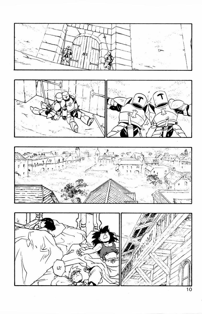 Dragon Quest: Emblem of Roto chap 34 trang 5