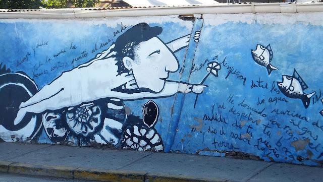 La Chascona, Street Art, Santiago de Chile, street art, Pastora, Barrio Italia, Bellavista, Cerro San Cristobal, elisaorigami, travel, blogger, voyages, lifestyle