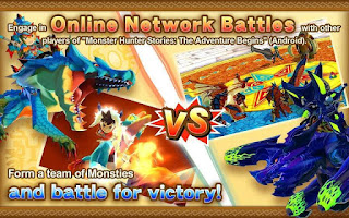 Free Monster Hunter Stories MOD APK V1.0.0