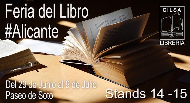 Feria del Libro de Alicante 2017 - Libreria Cilsa. Librería Técnica y Especializada.