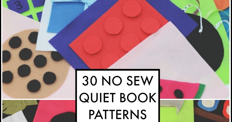 The 3 day no sew quiet book and next comes l pronofoot35fo Gallery