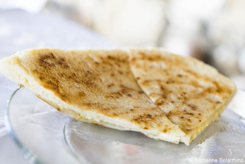 Imeruli khachapuri იმერული ხაჭაპური Georgian Cuisine Traditional Foods