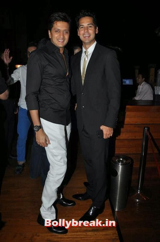 Riteish Deshmukh and Dino Morea, Karishma Tanna's Birthday Bash Pics