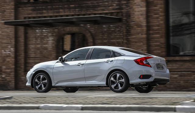 Novo Honda Civic Touring 2017