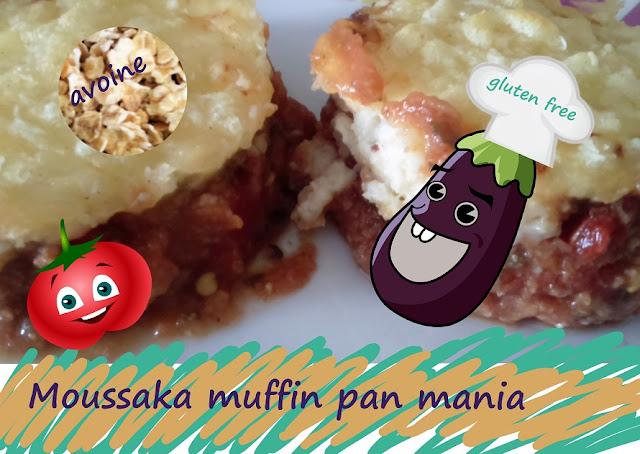 moussaka gluten free, muffin pan mania