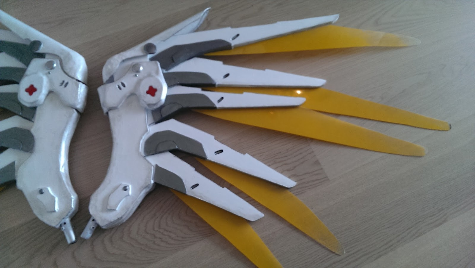 Chrix Design Building Mercy S Wings From Overwatch