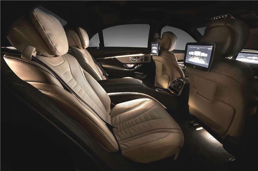 mecedes+s class+interior