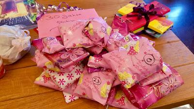Geschenk in pink
