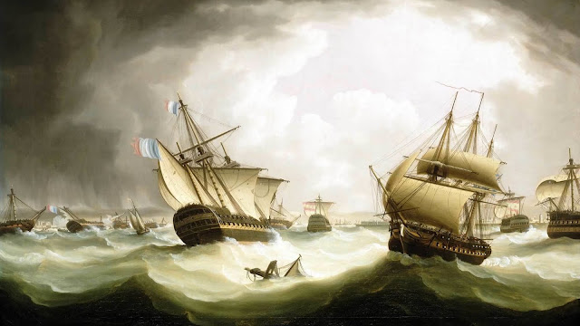 Combate naval de Trafalgar 21 de octubre de 1805.