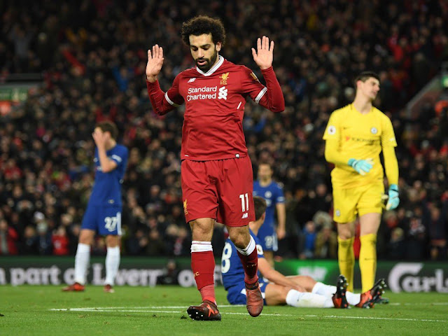 Liverpool attacker Mo Salah honors Egypt terror attack victims vs Chelsea