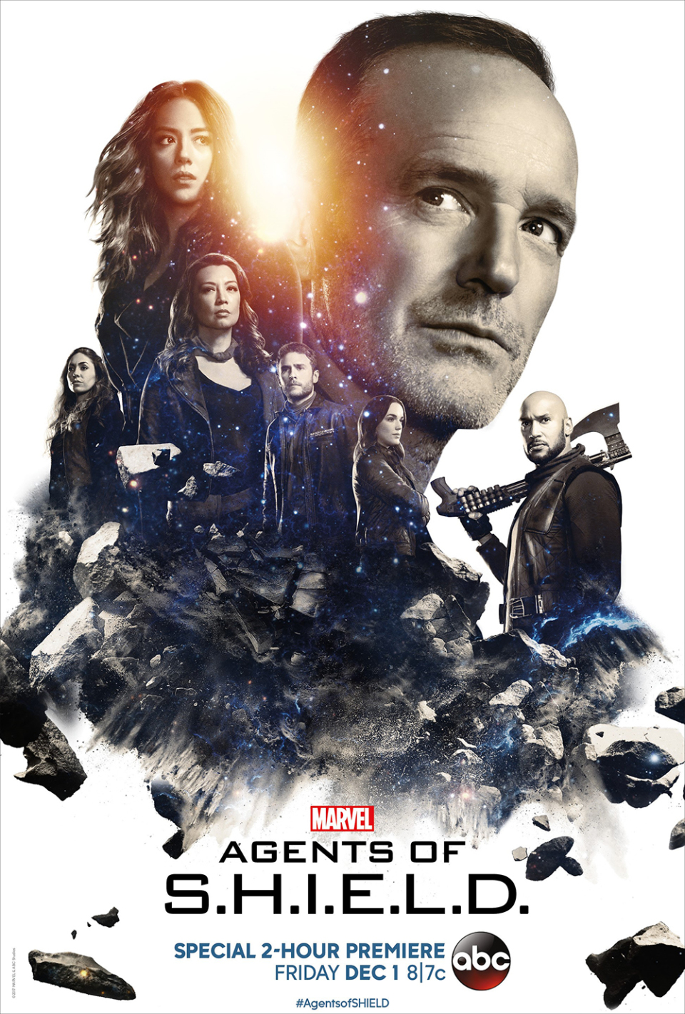 Agents of SHIELD season 5 iconic poster