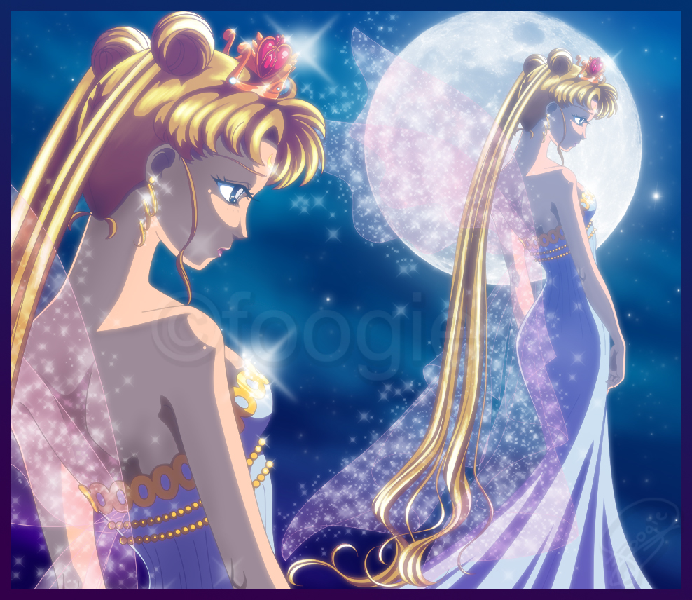 Neo Queen Serenity Cosplay: SandStorms Diary: Cosplay VS Anime