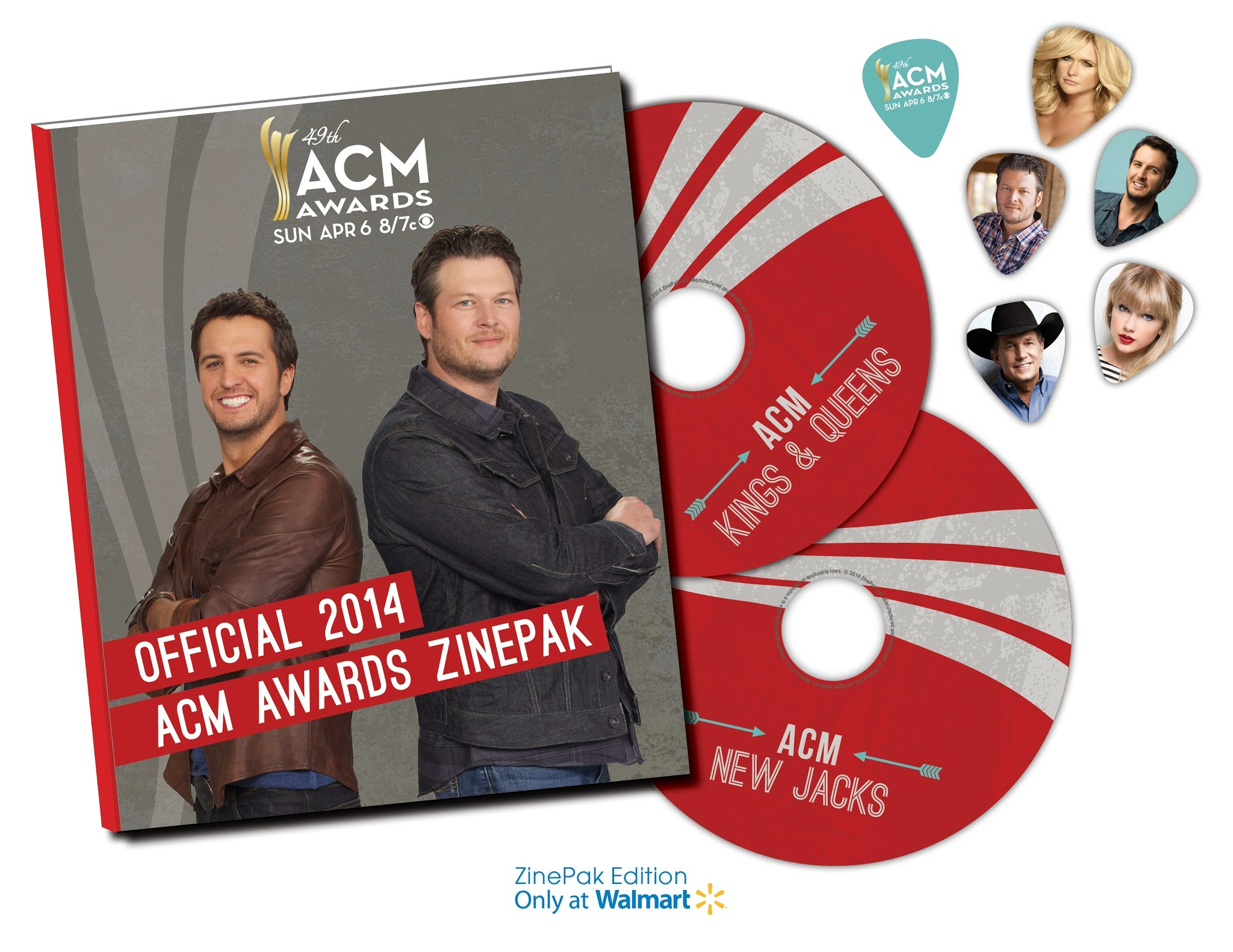 Enter to win the Academy of Country Music Awards ZinePak Giveaway. Ends 3/30