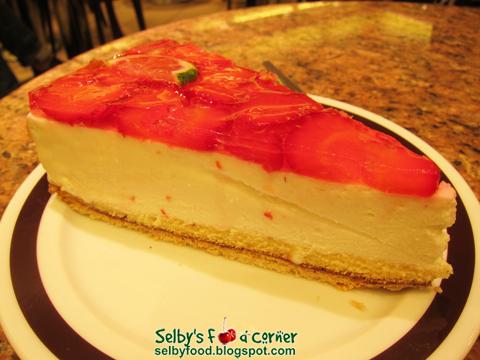 Euro Strawberry Cake