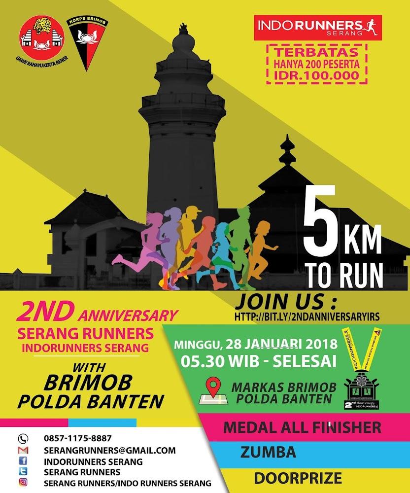 2nd Anniversary Serang Runners • 2018