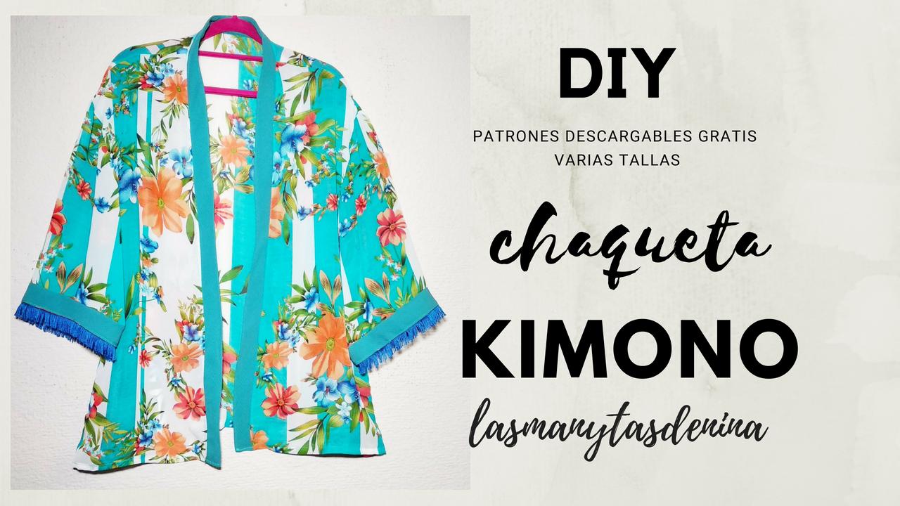 DIY CHAQUETA KIMONO