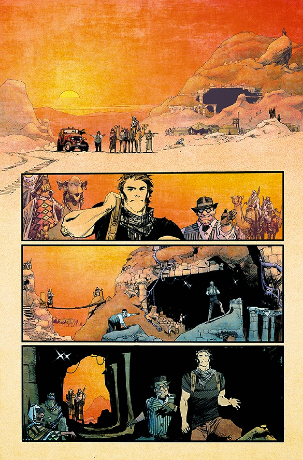 Indiana Jones meets time travel in Chrononauts